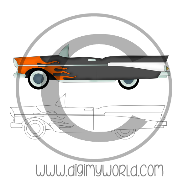 50's Chevelle Car