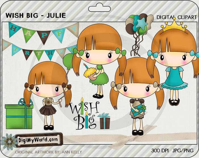 Julie - Wish Big