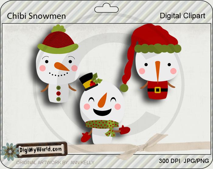Chibi Snowmen