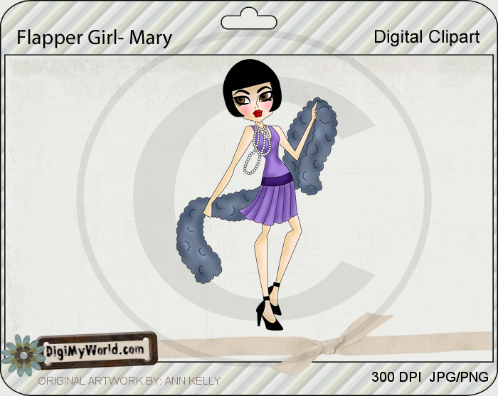 Flapper Girl Mary