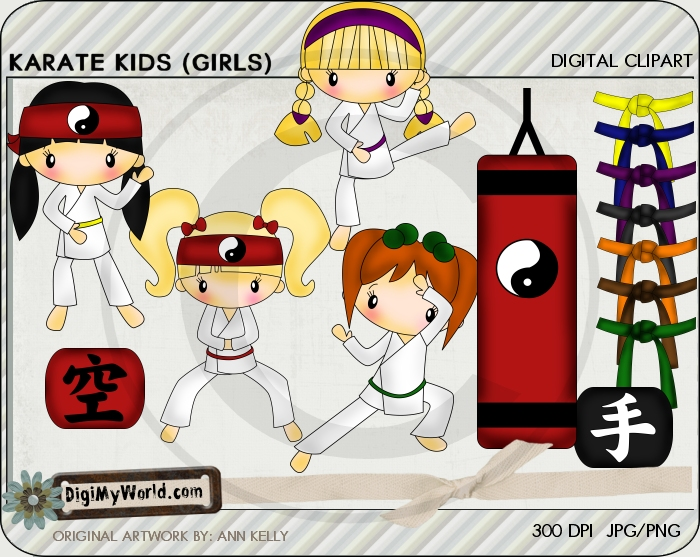 Karate Kid GIRLS