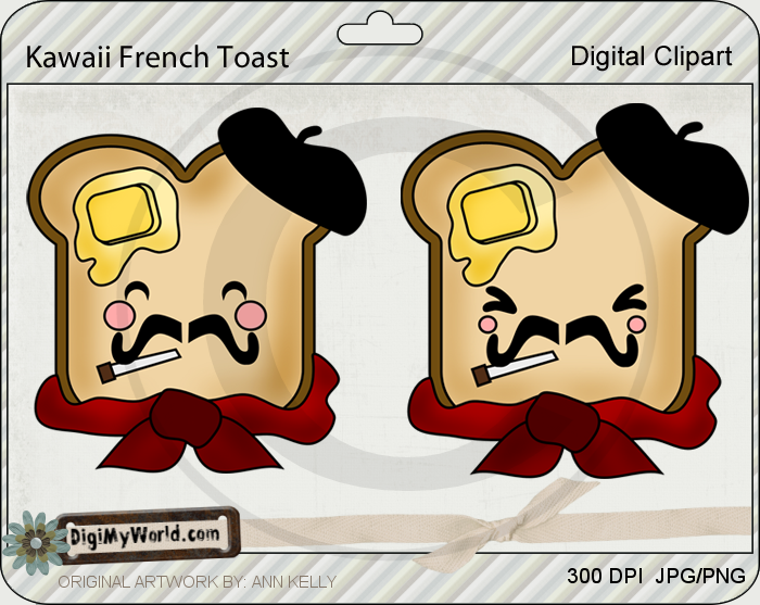 Kawaii French Toast