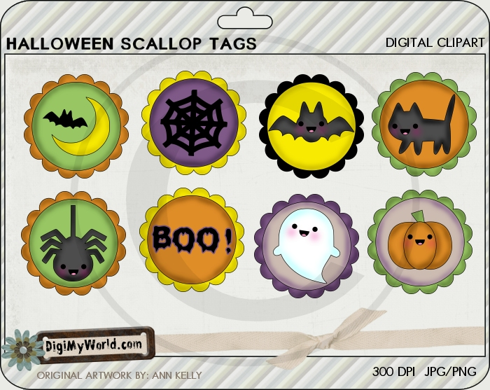Halloween Tags