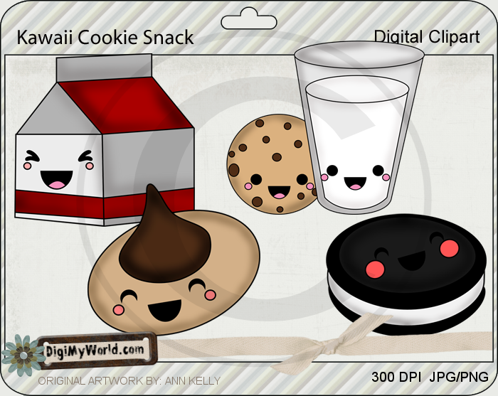 Kawaii Cookie Snacks