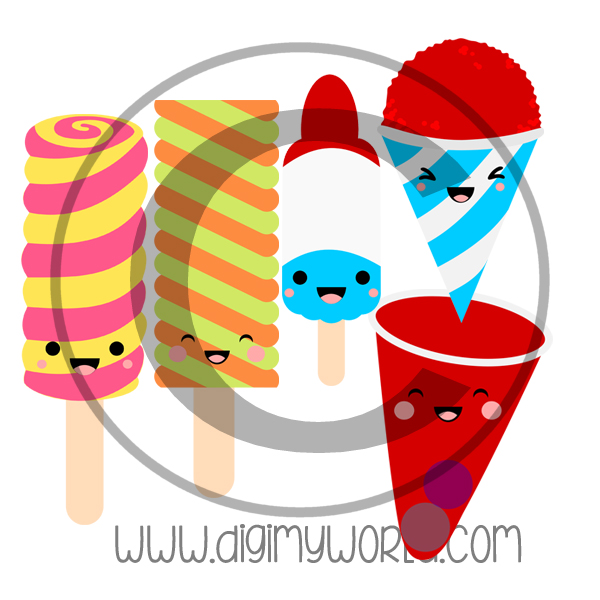 Kawaii Ice Truck Treats