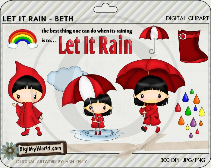 Let it Rain (Beth)