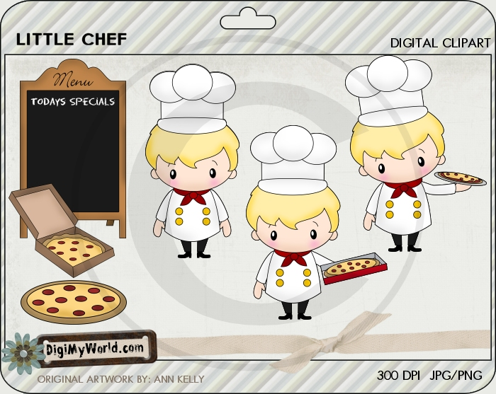 Little Chef Pizza Man (blonde)