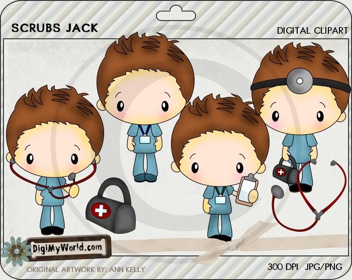 Chibi Scrubs Jack
