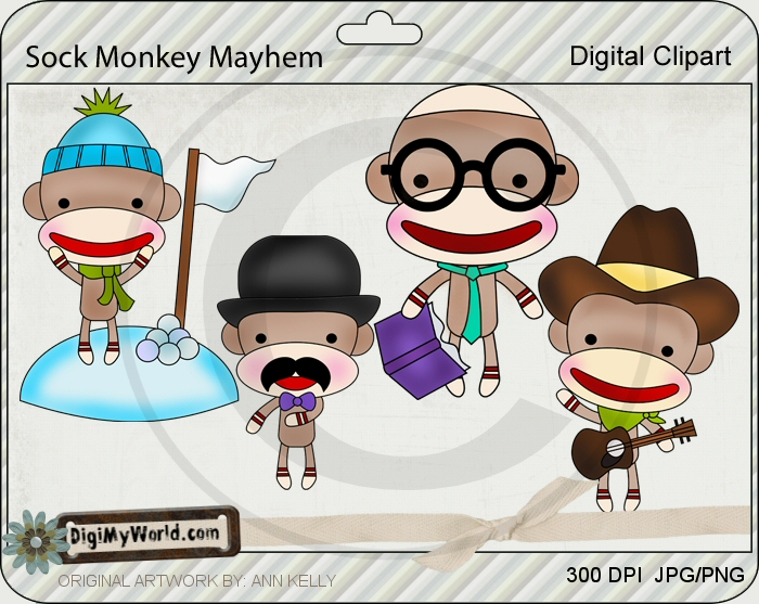 Sock Monkey Mayhem