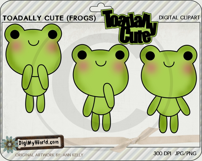 Toadally Cute (Frogs)