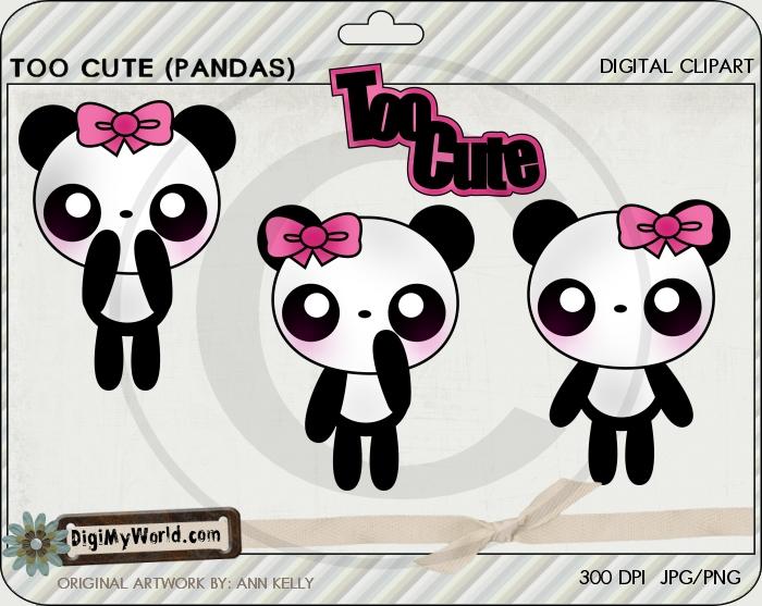 Too Cute (Pandas)