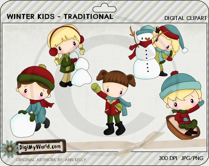 Winter Kids-Traditional