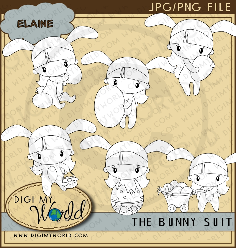 Bunny Suit - Elaine