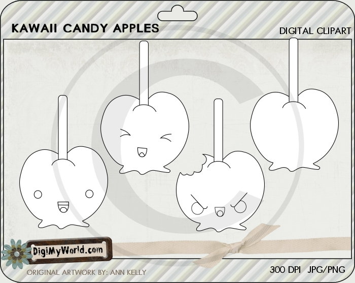Kawaii Candy Apples