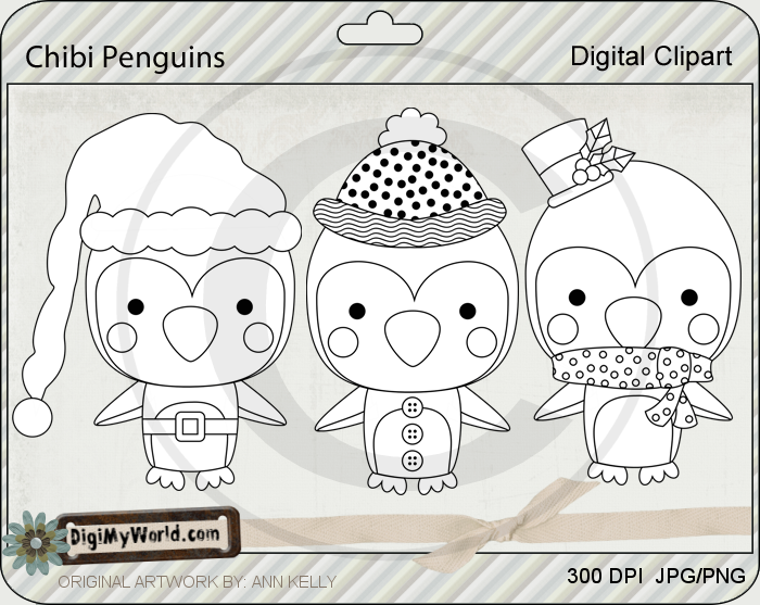 Chibi Penguins