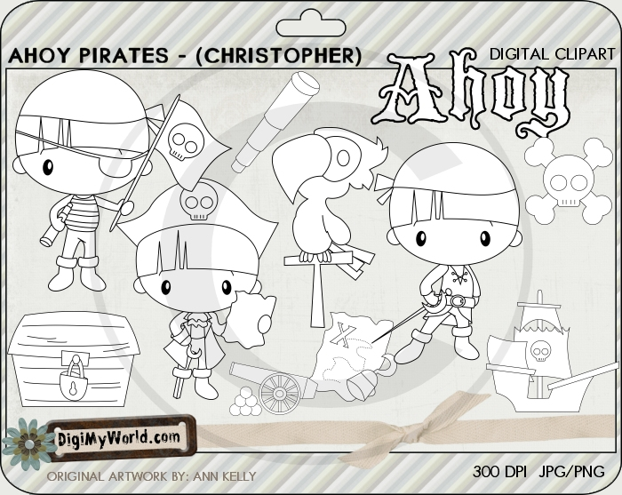 Ahoy Pirate (Christopher)