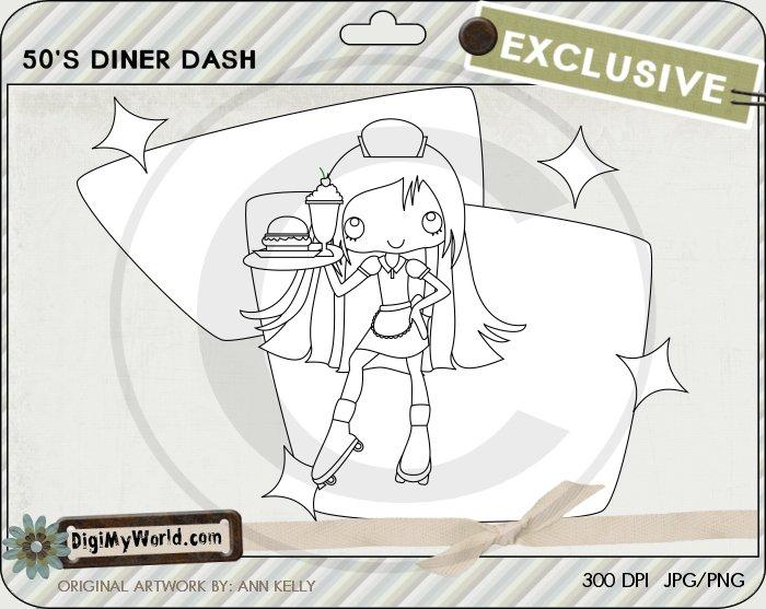 50's Diner Dash