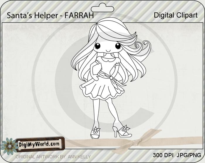 Santa's Helper - FARRAH