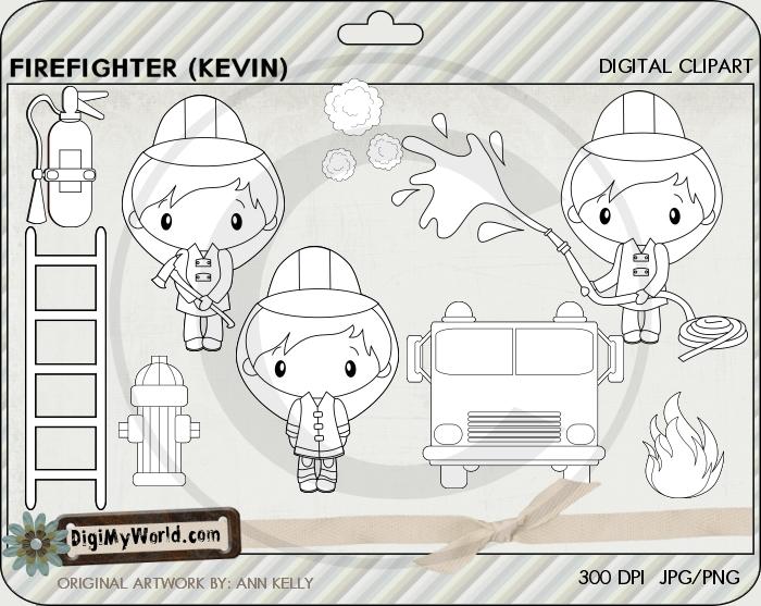 Firefighter Kevin