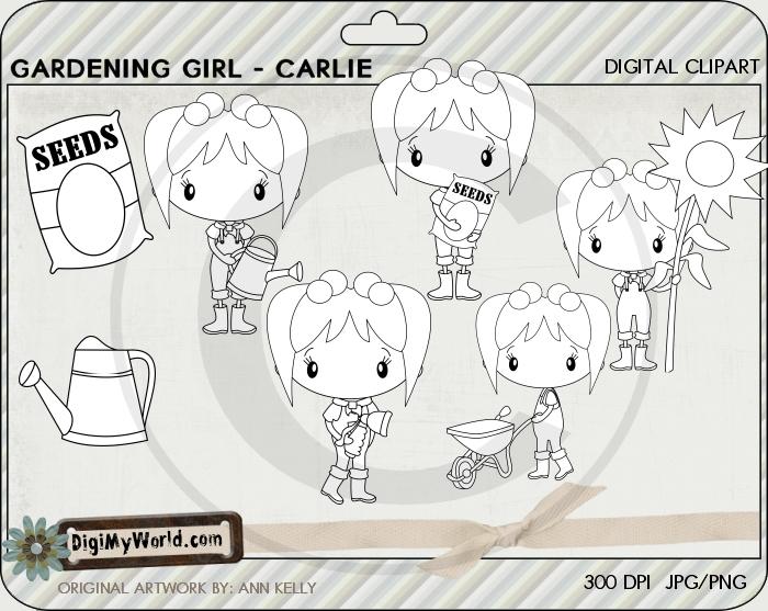 Garden Girl Carlie
