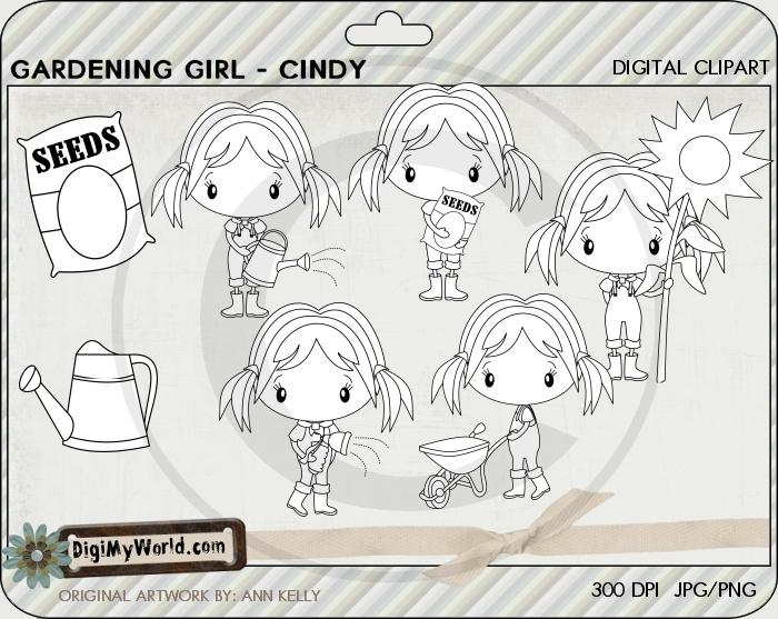 Garden Girl Cindy