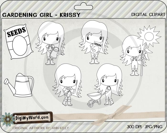 Garden Girl Krissy