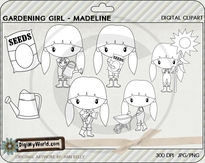 Garden Girl Madeline