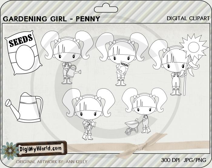 Garden Girl Penny