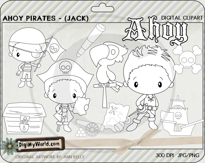 Ahoy Pirate (Jack)