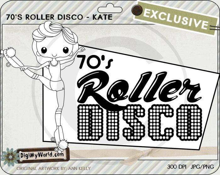 Roller disco Kate