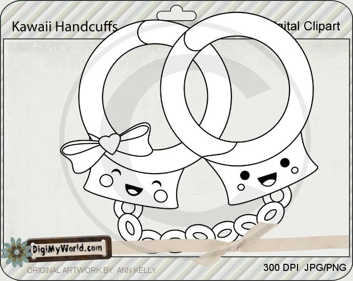 Kawaii Handcuffs