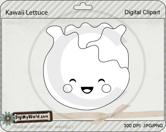 Kawaii Lettuce