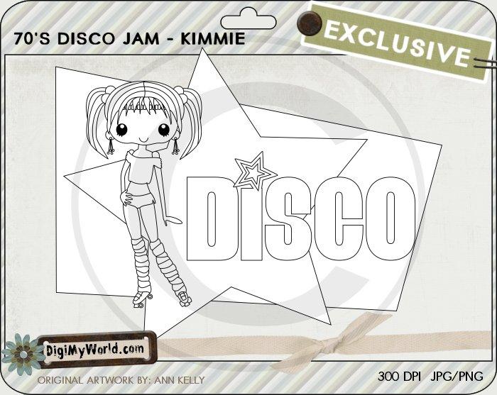 Disco Jam Kimmie