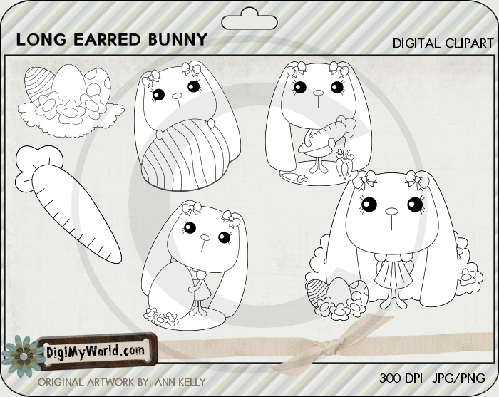 Long Earred Bunny