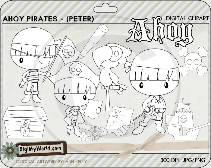 Ahoy Pirate (Peter)