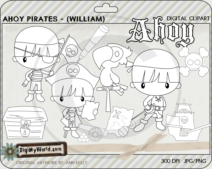 Ahoy Pirate (William)