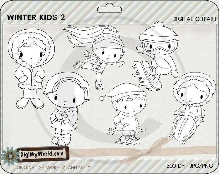 Winter Kids 2