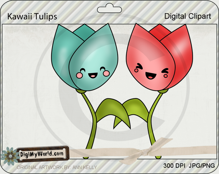 Kawaii Tulips